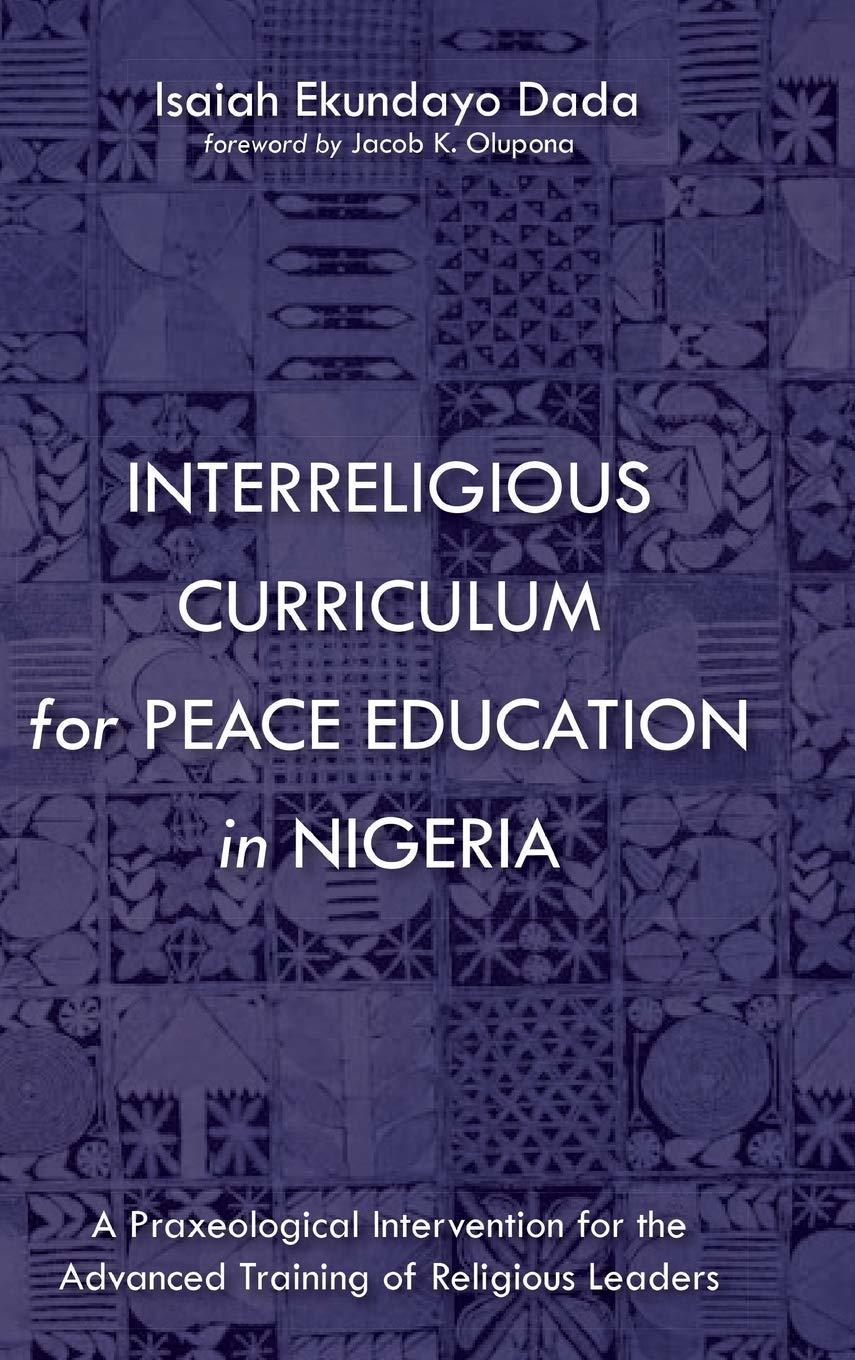 Interreligious Curriculum for Peace Education in Nigeria