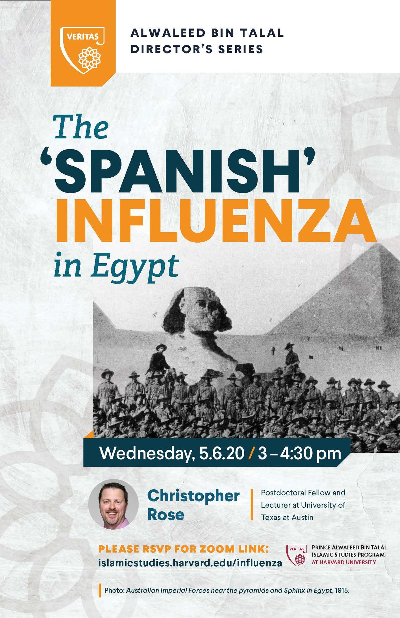 The 'Spanish' Influenza in Egypt