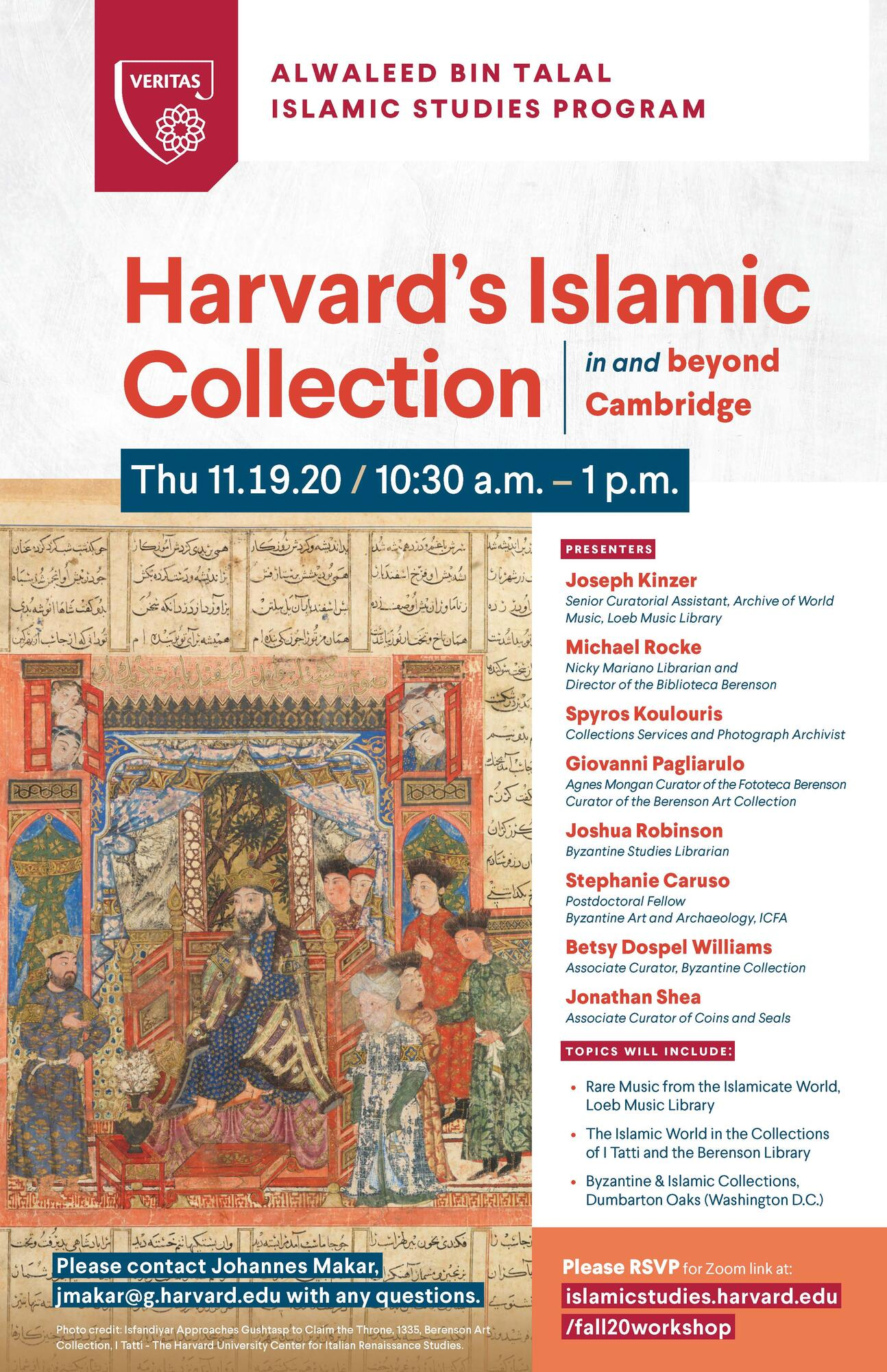 Harvard Islamic Collection in and beyond Cambridge