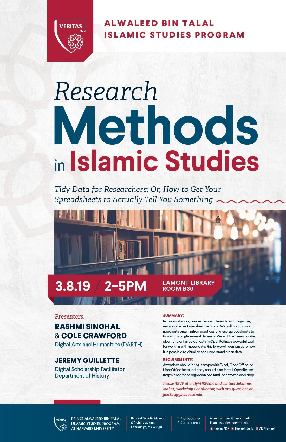 Research Methods Spring 2019