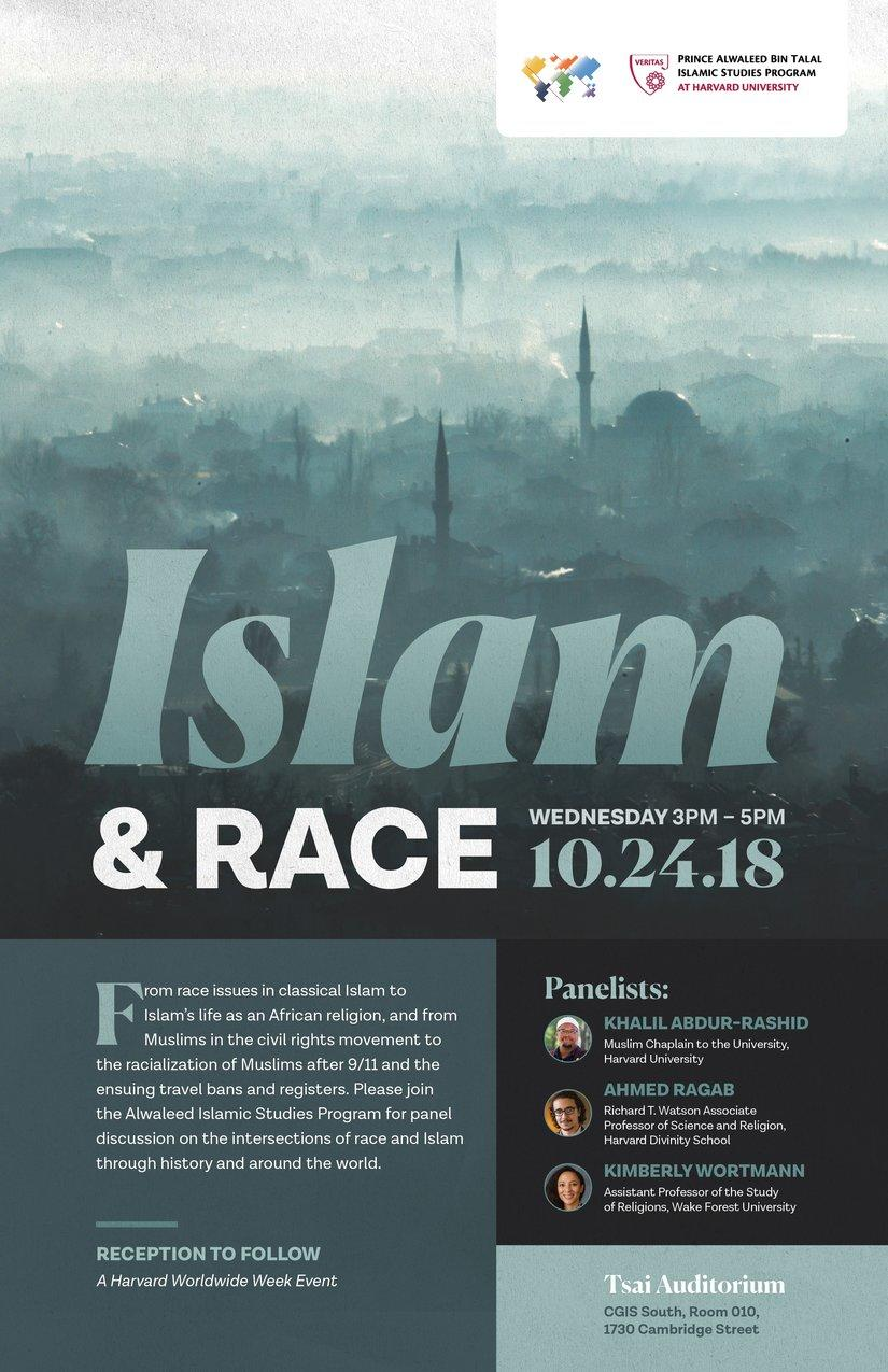 Islam and Race Poster