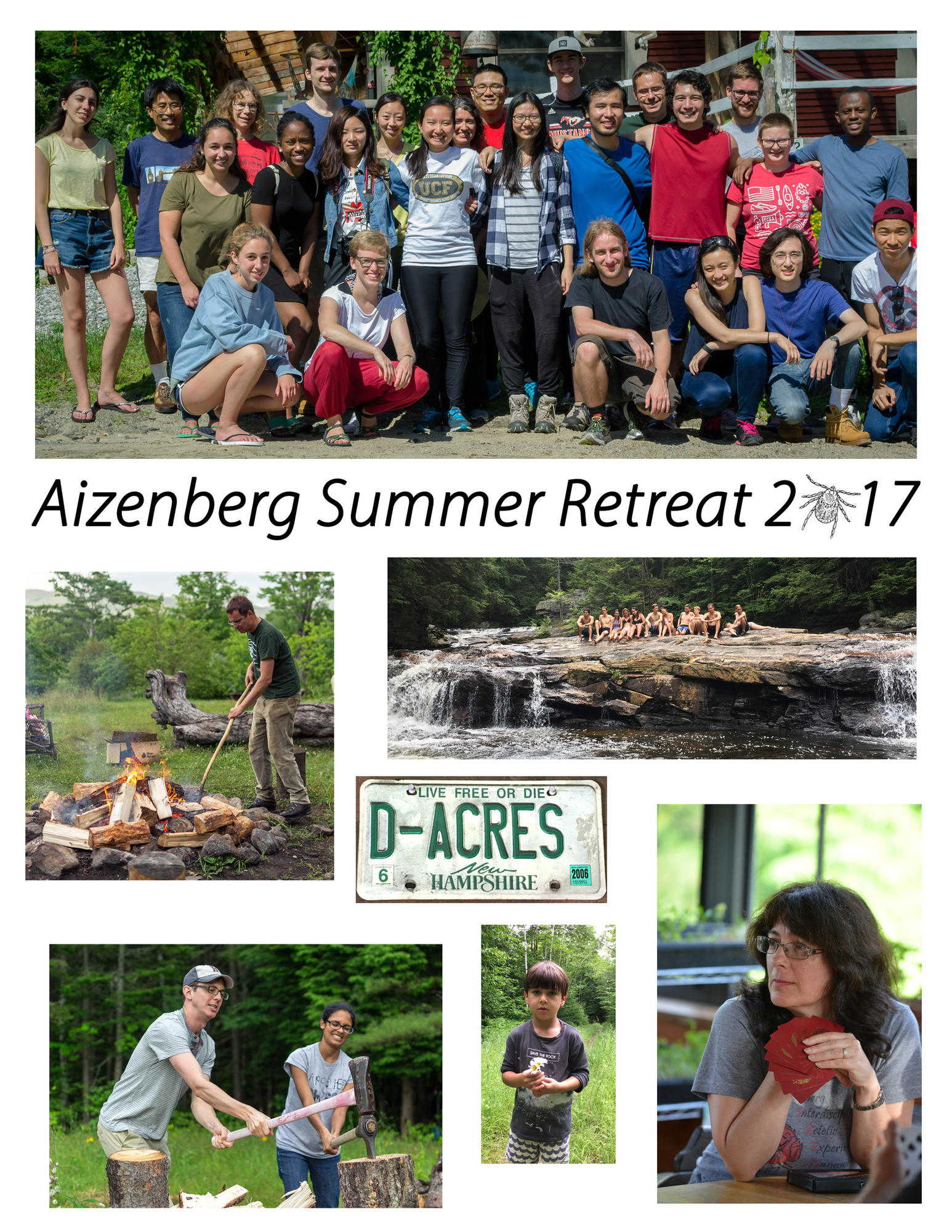 Aizenberg Summer Retreat at D'Acres, NH