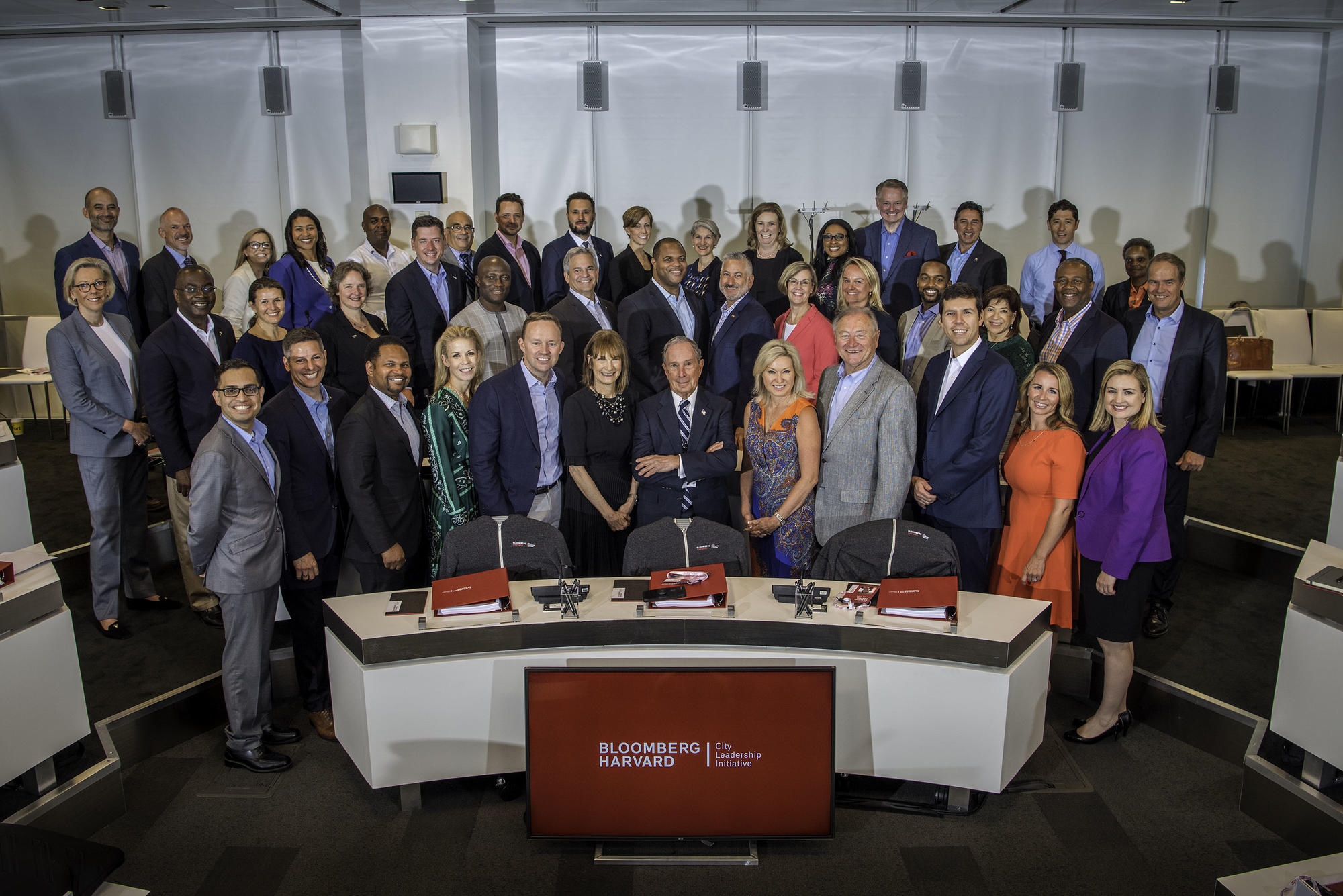 Bloomberg Harvard City Leadership Initiative Year Three Group Photo