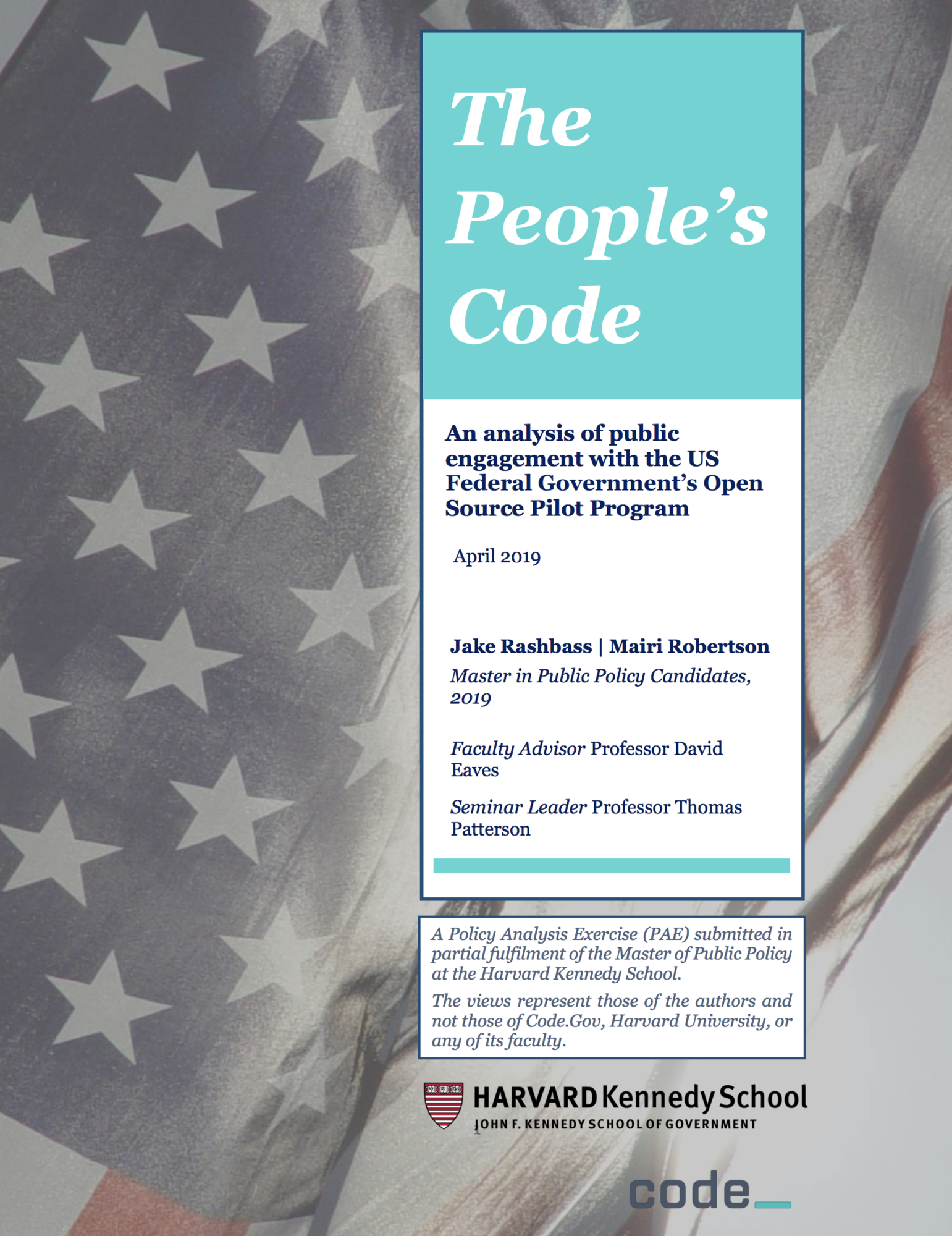 The people's code