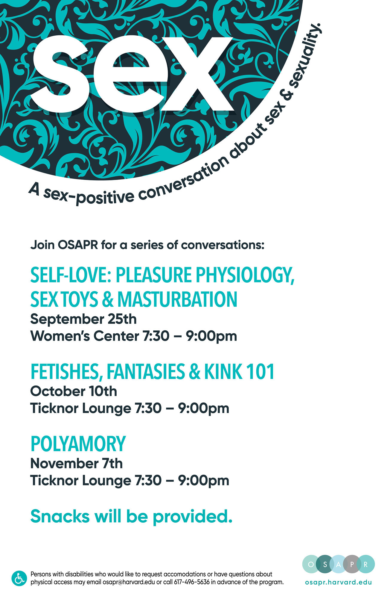 Sex Positive Convo Poster