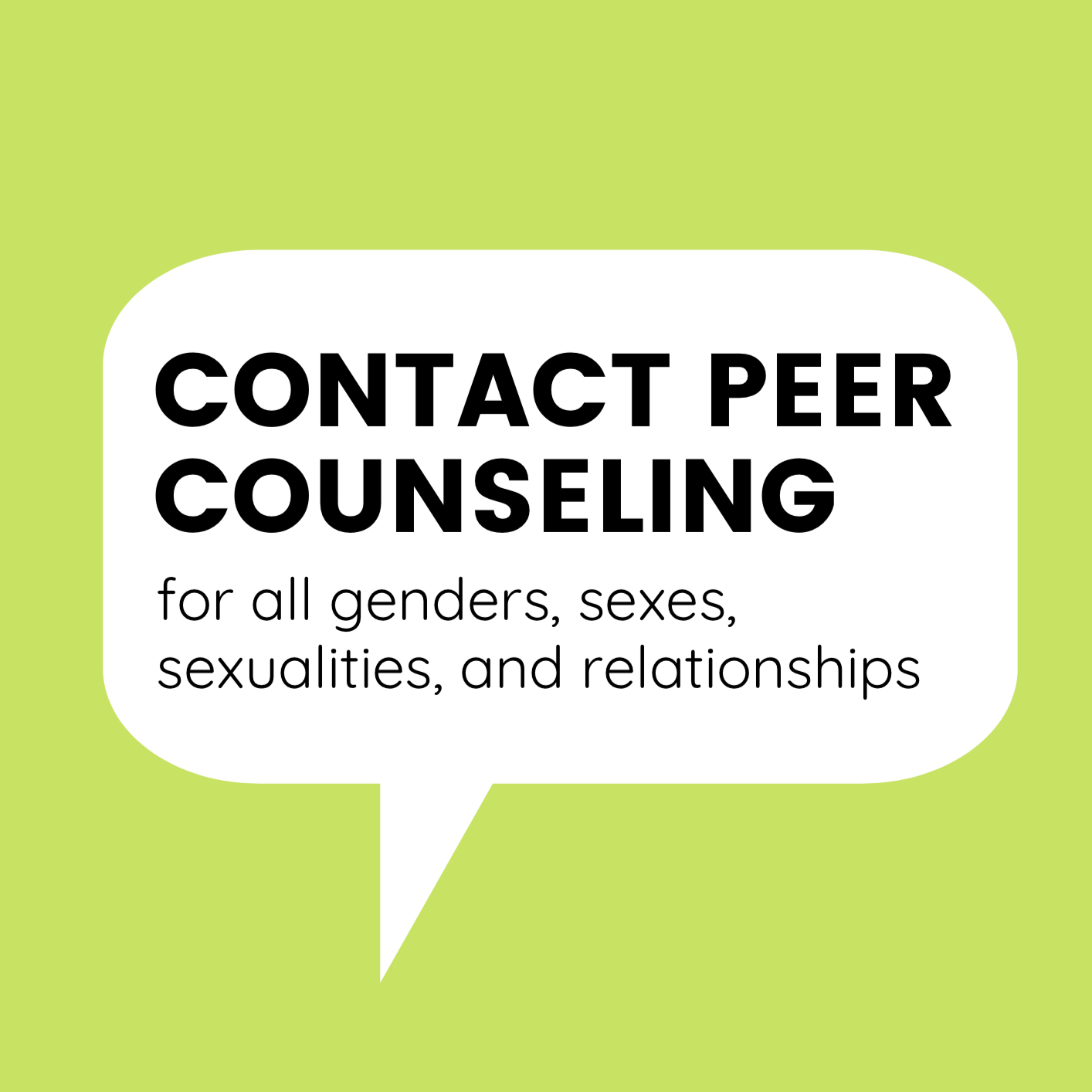 Contact Peer Counseling