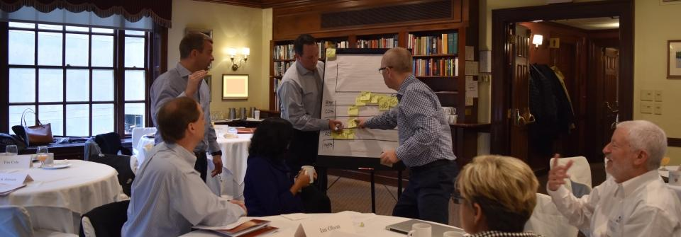 Idea Mapping at a recent session