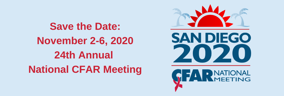 CFAR National Meeting San Diego Nov 2020