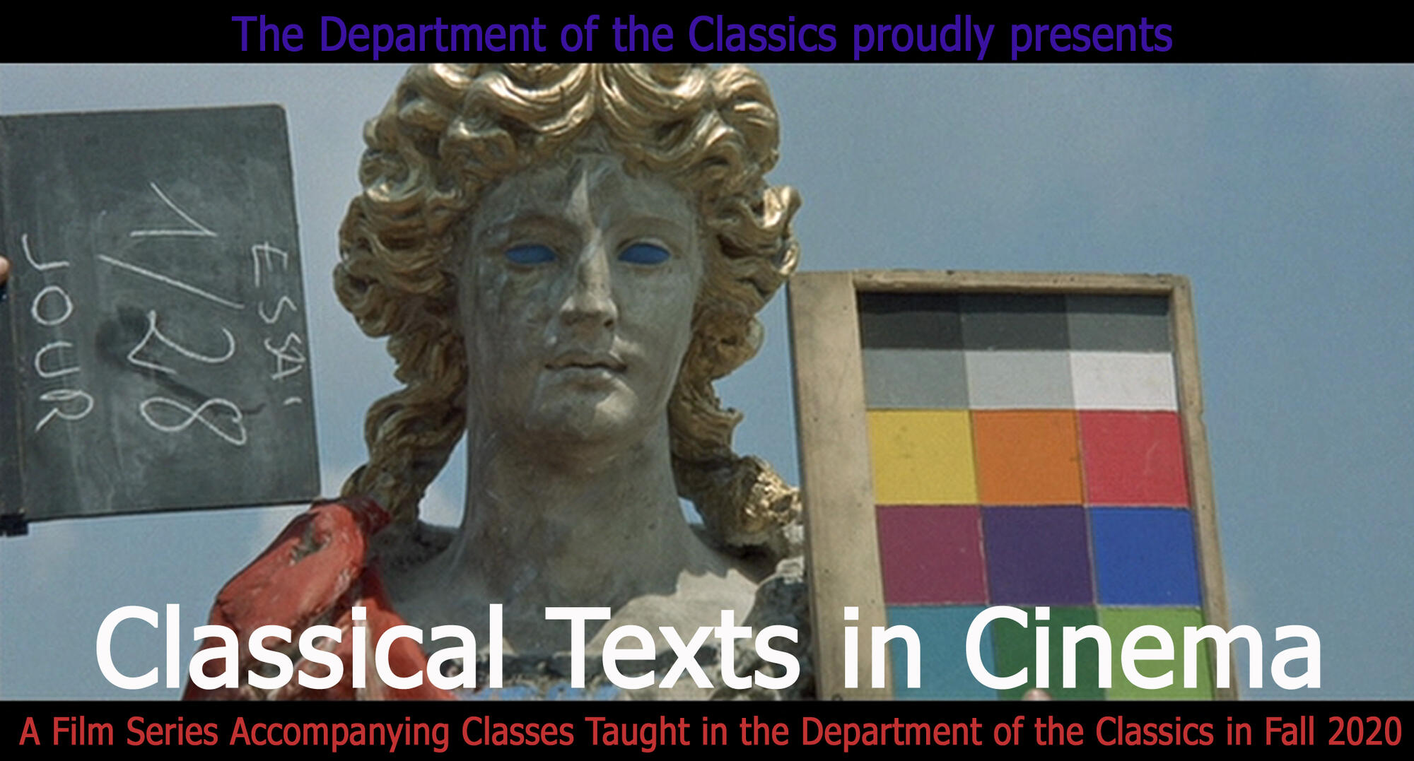 Classical Texts in Cinema Poster