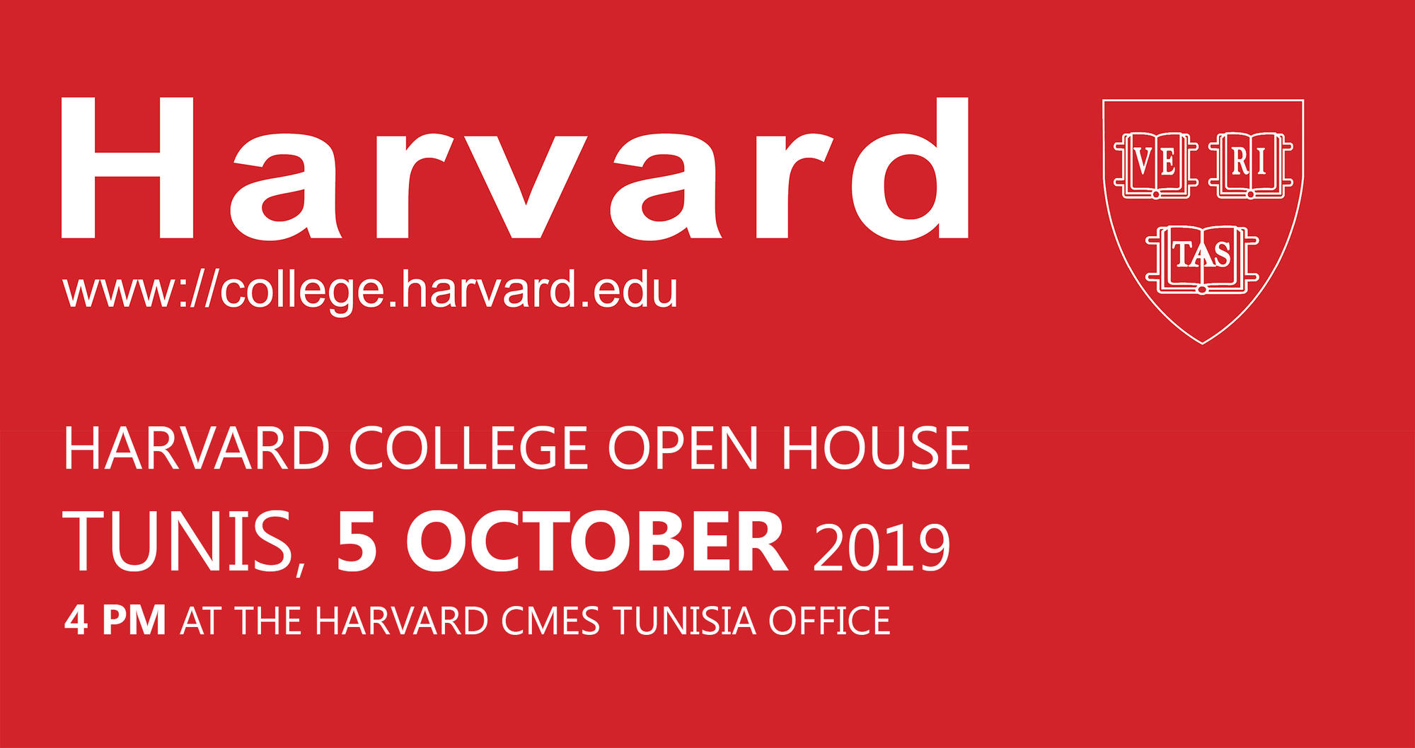 Harvard College Open House Tunis-oct-5-2019-cover