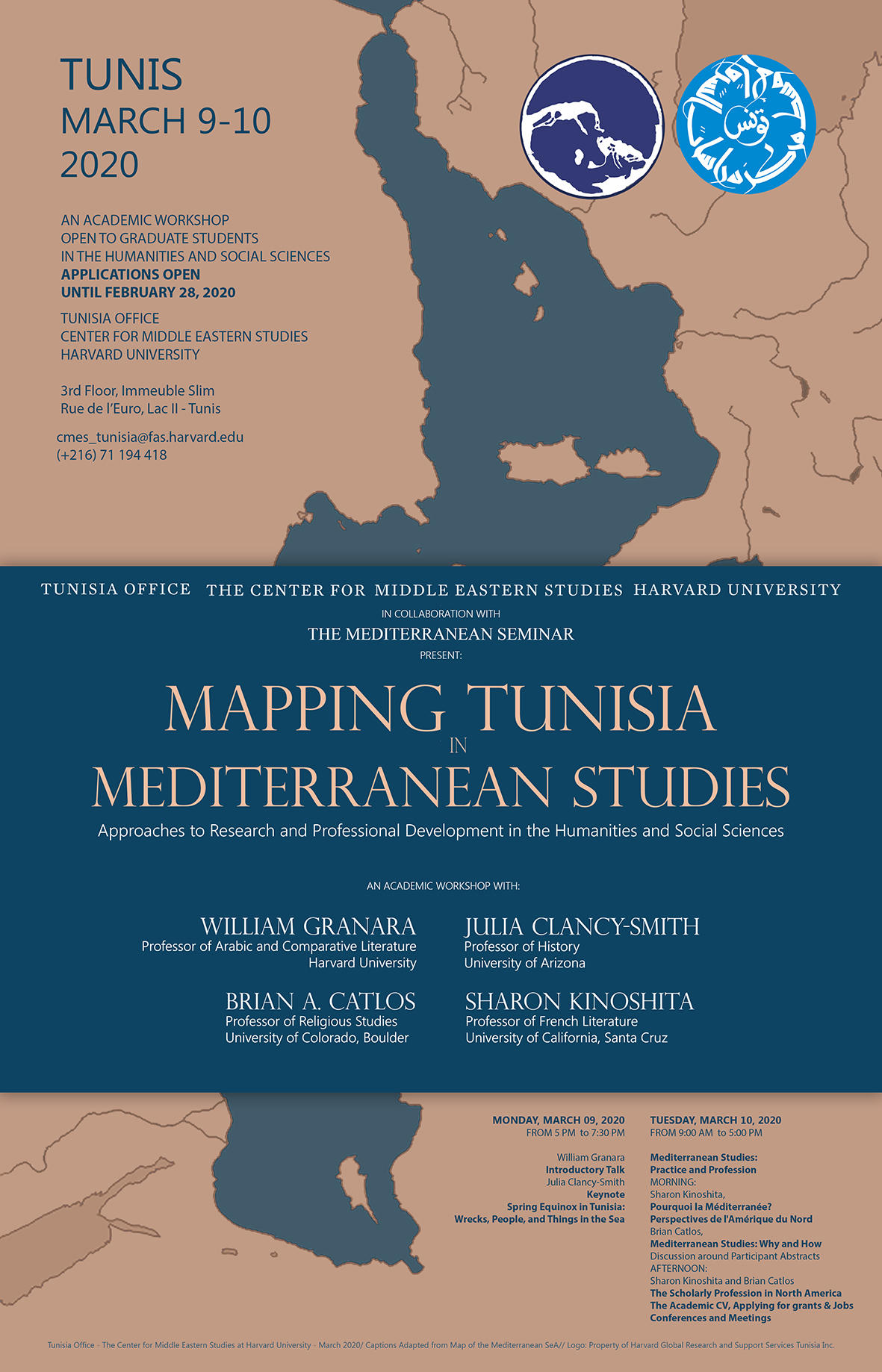 Mediterranean Studies Workshop- March 2020