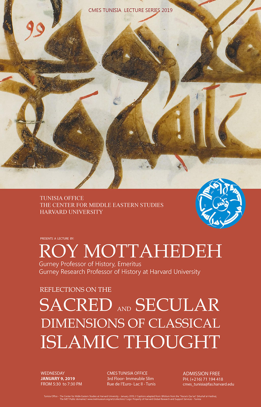 Roy Mottahedeh Poster
