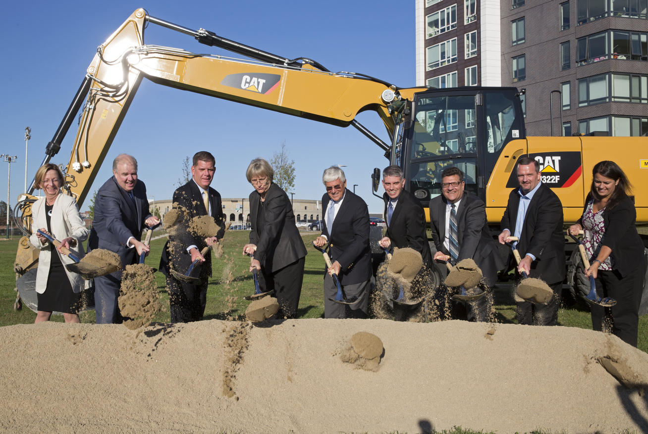 Smith Field Groundbreaking