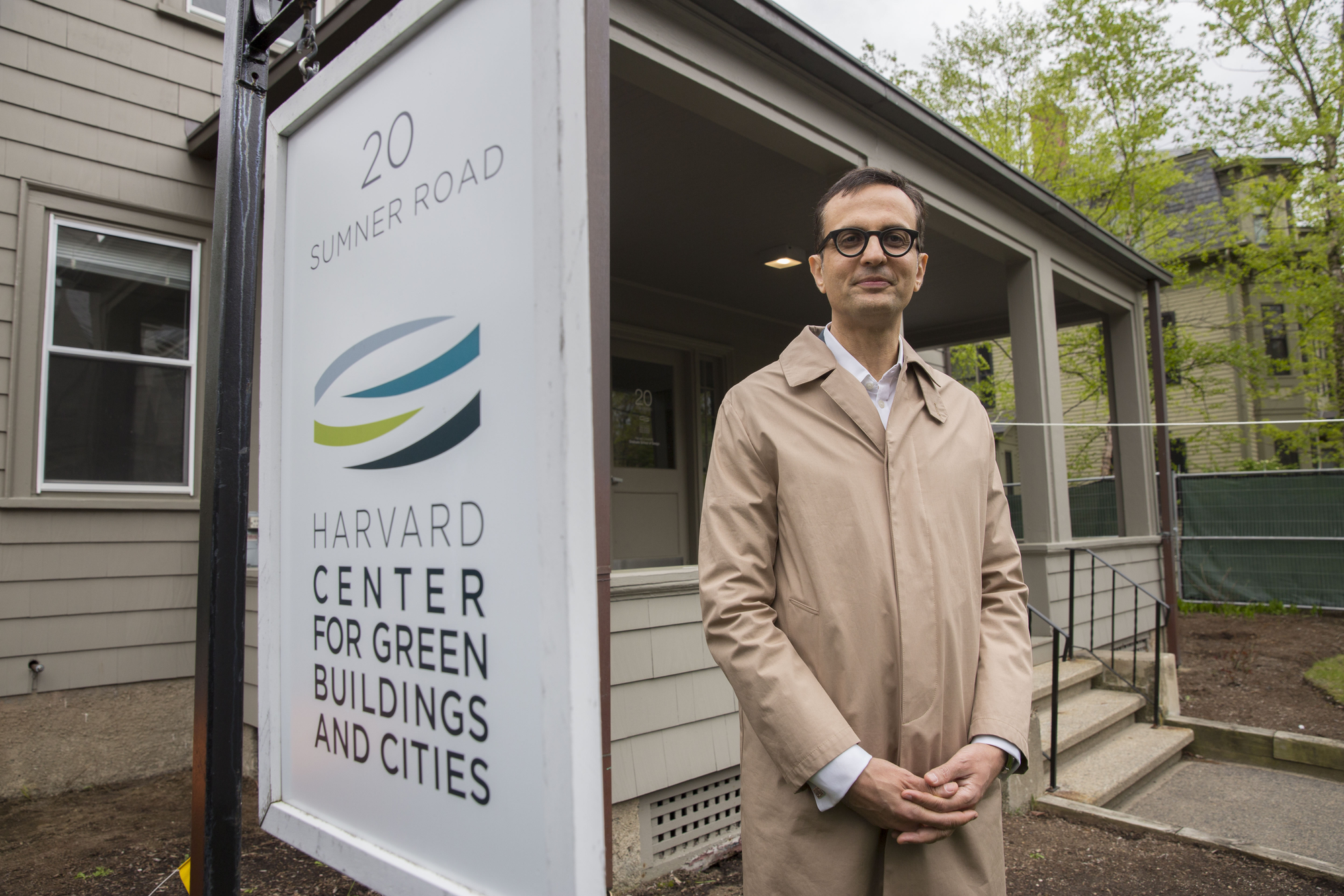 Director of the Harvard Center for Green Buildings and Cities Ali Malkawi