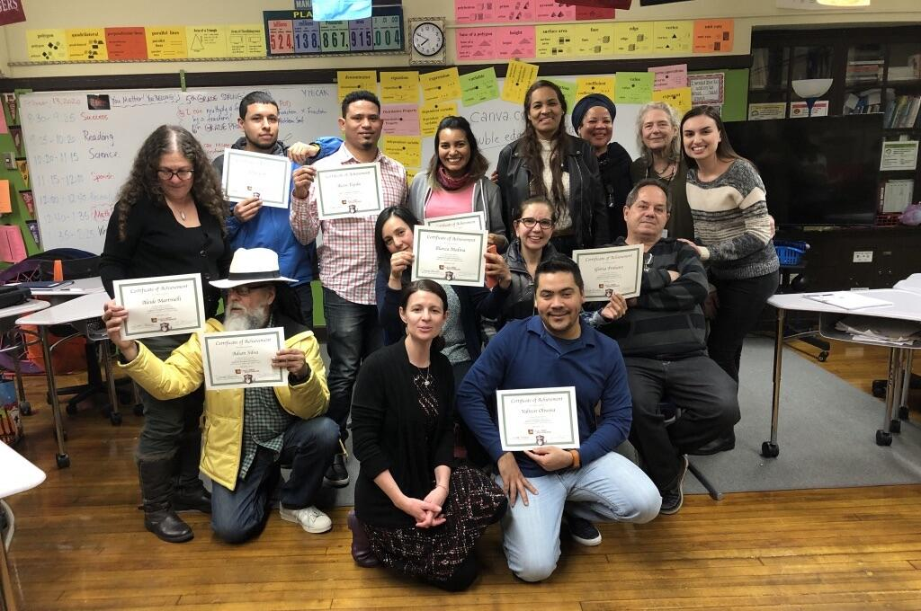 GPA Adult Education Program graduation photo