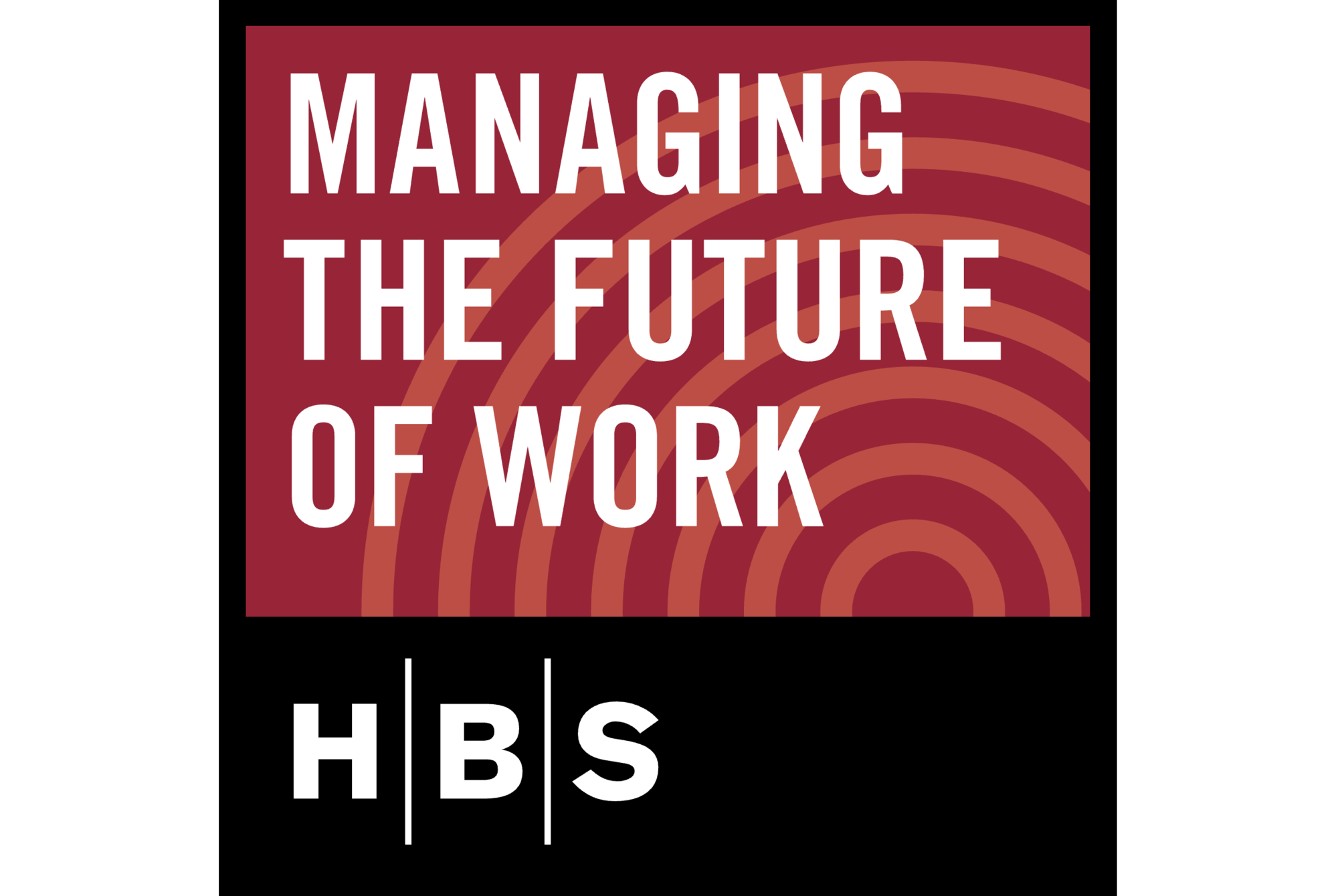 Managing the Future of Work podcast logo