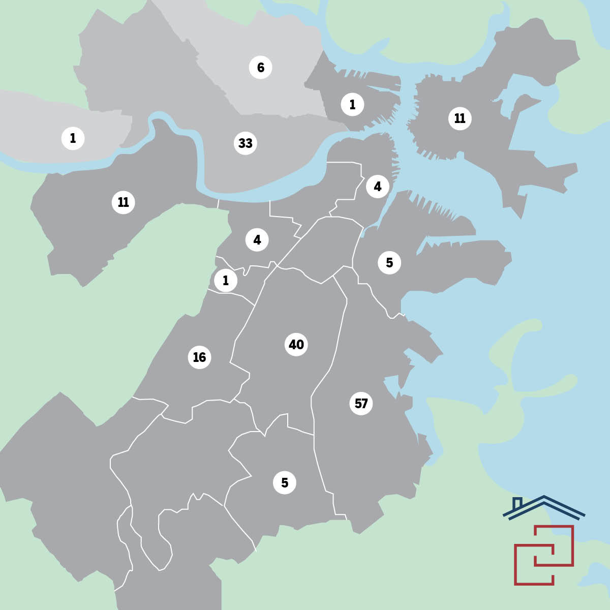 Harvard local housing collaborative impact map