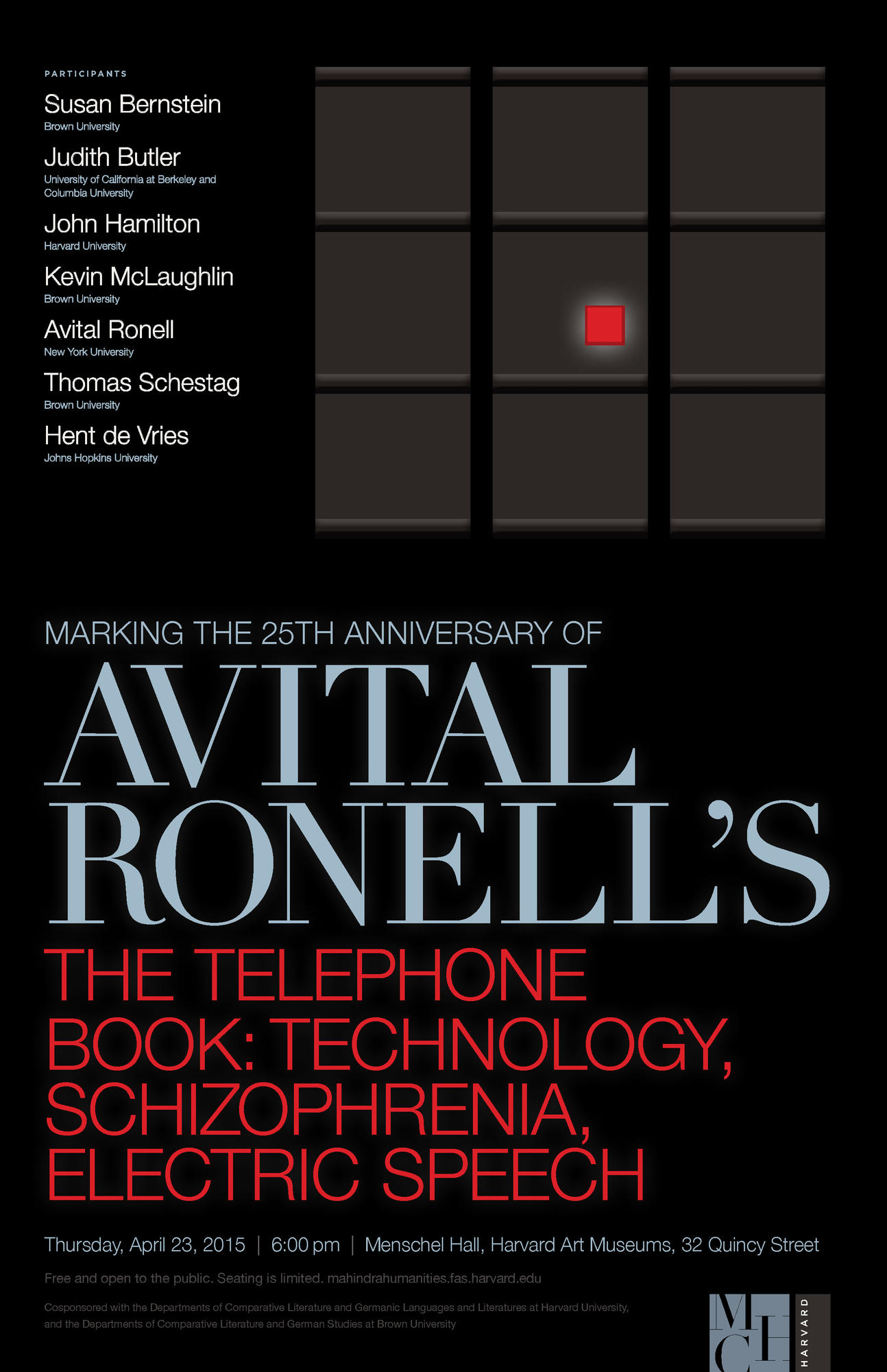 Post-Phonements: Avital Ronell, The Telephone Book: Technology