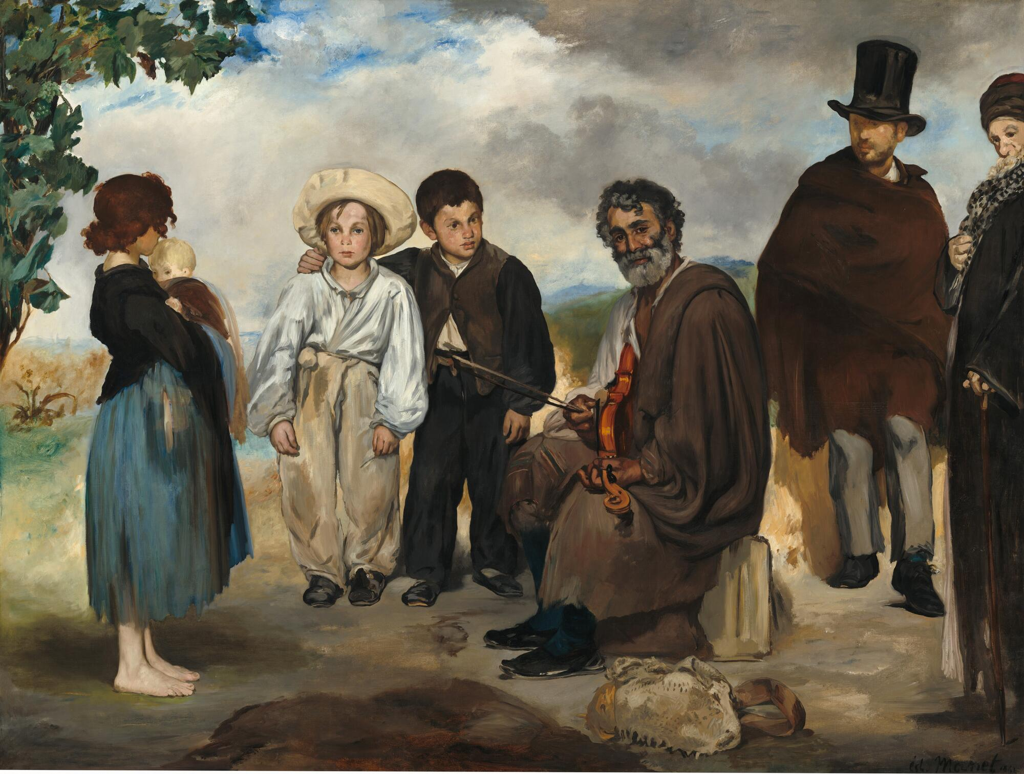 Manet the old musician