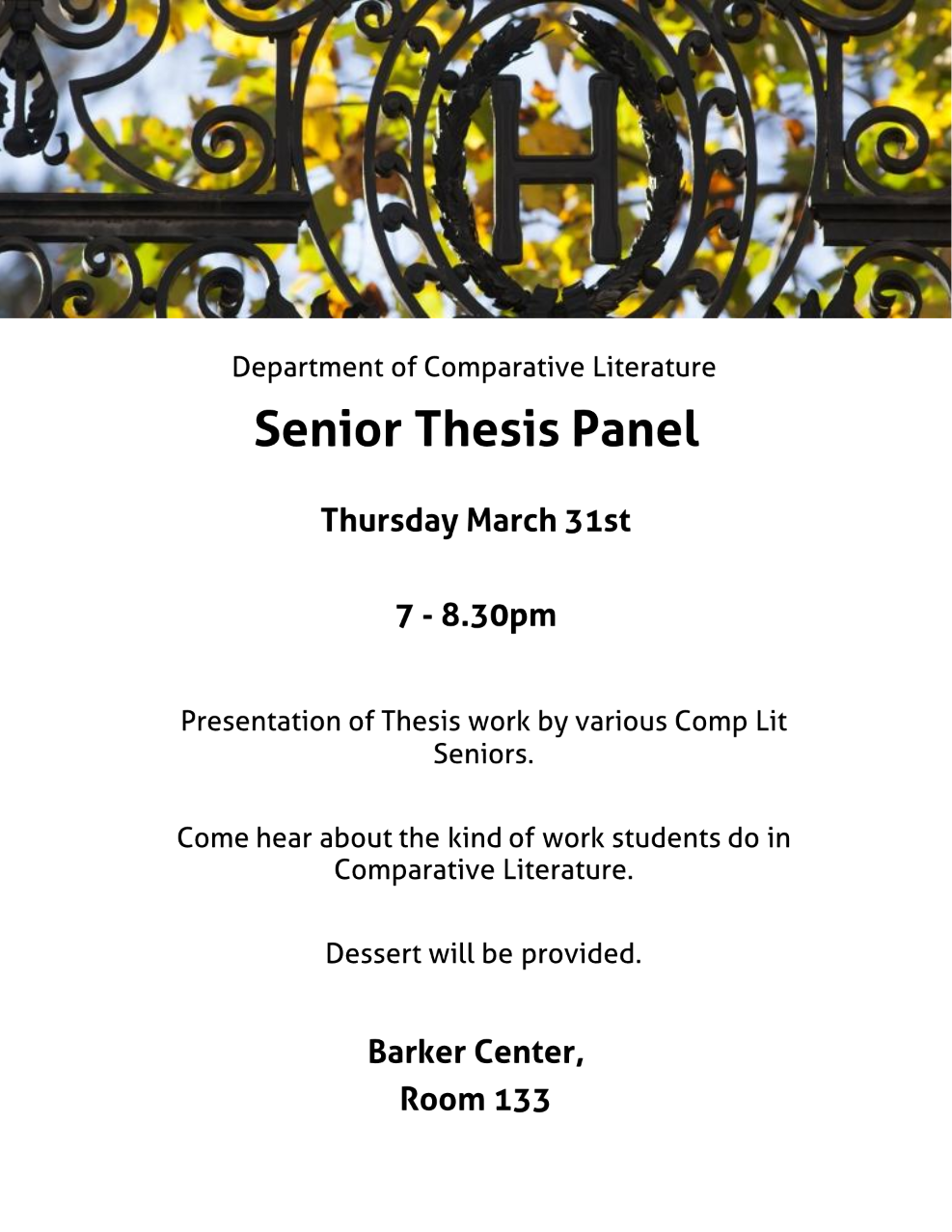 thesis on comparative literature