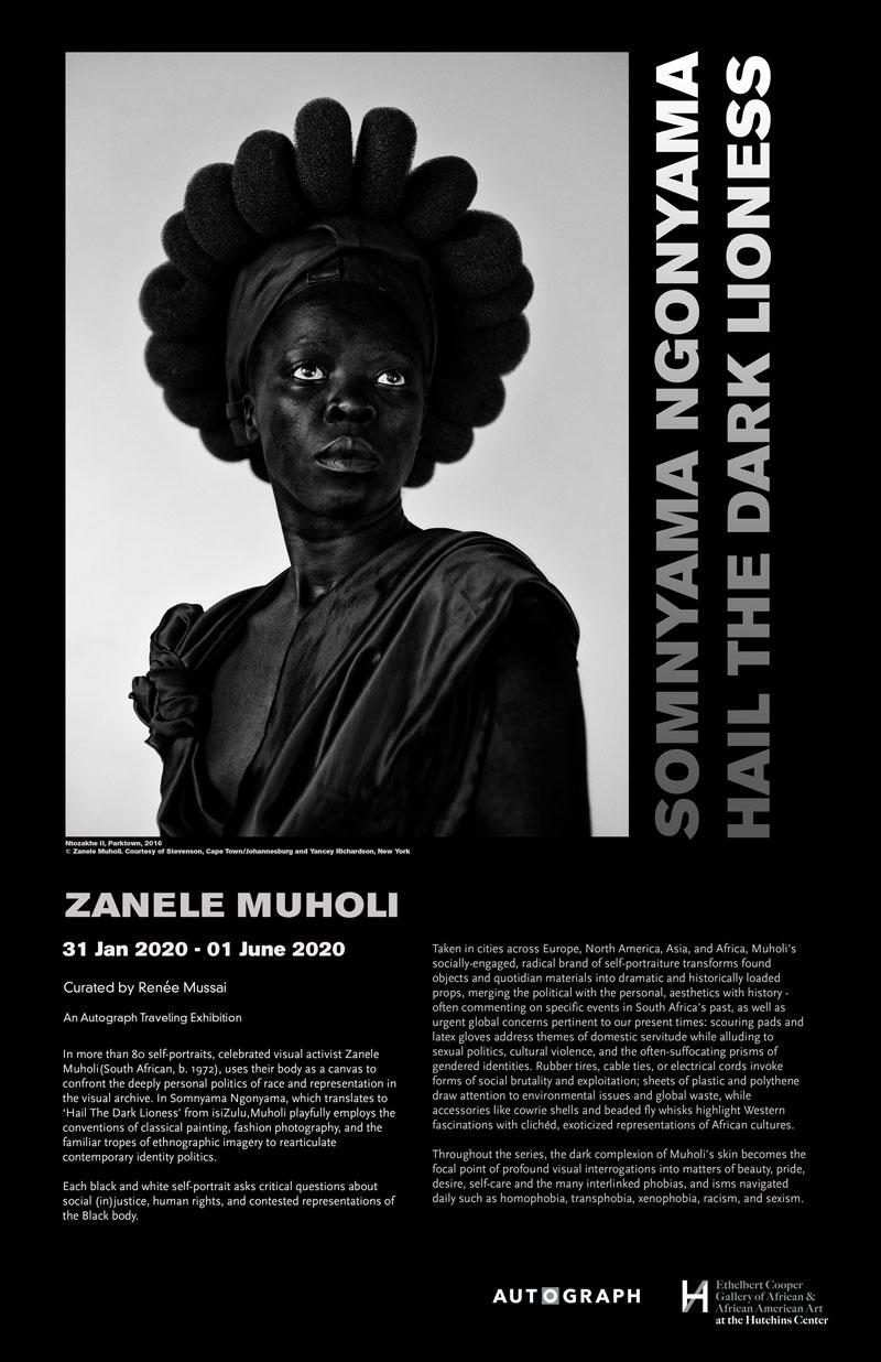 Somnyama Ngonyama exhibition poster