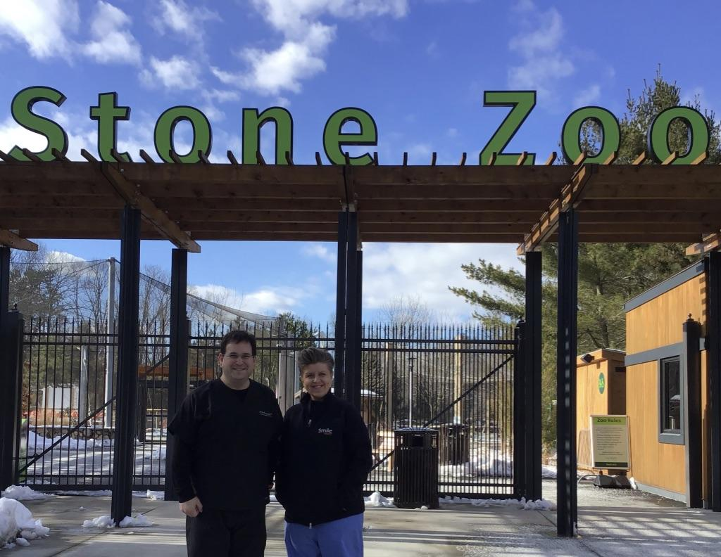 Dr. Spitz at Stone Zoo
