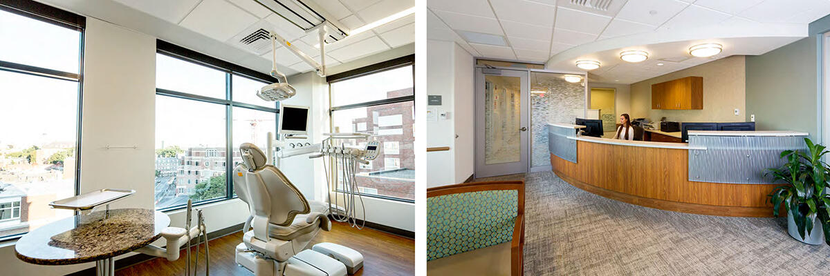 Cambridge dental clinic interior photos