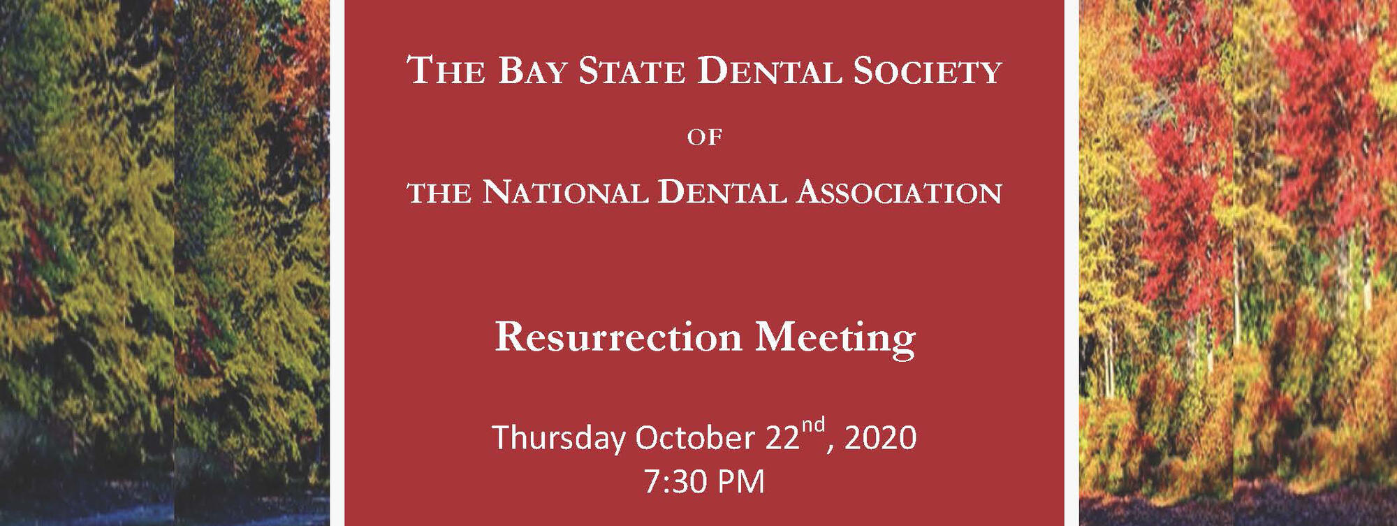 Bay State Dental Society header