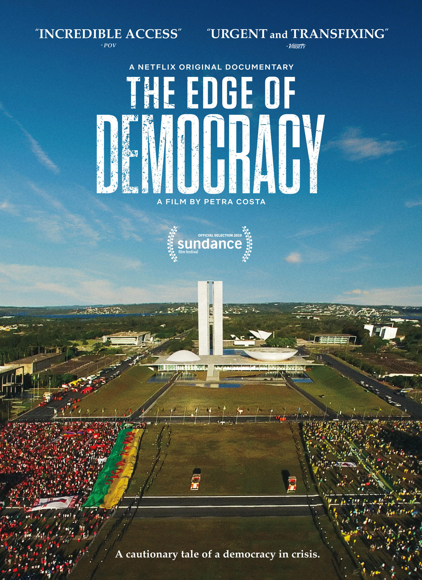 Poster of Edge of Democracy