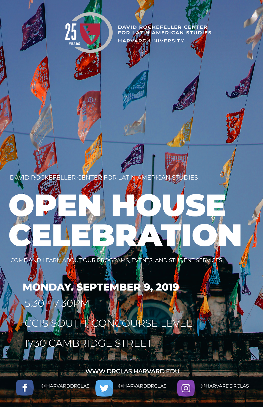 DRCLAS Open House 2019