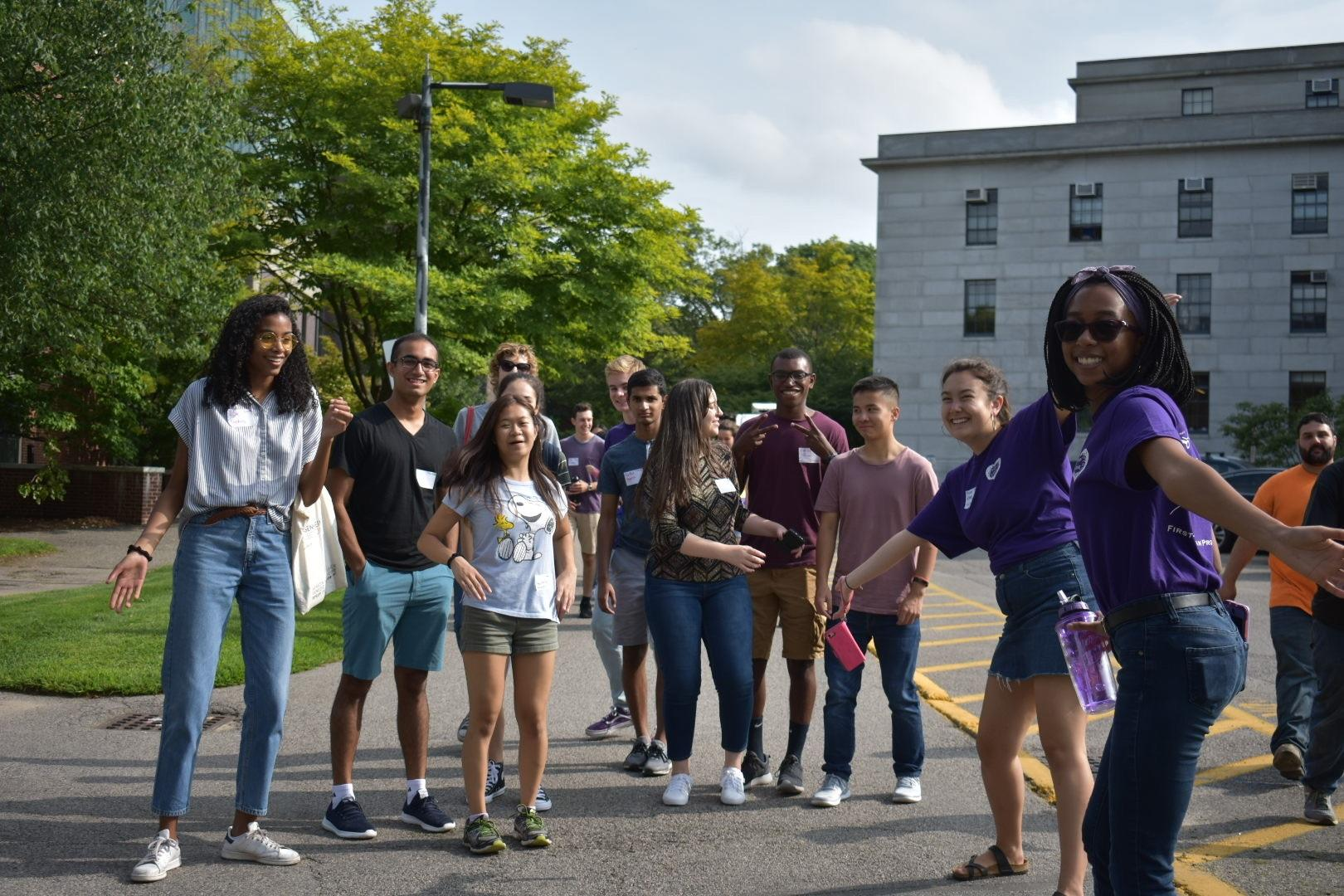 First-Year Urban Program students