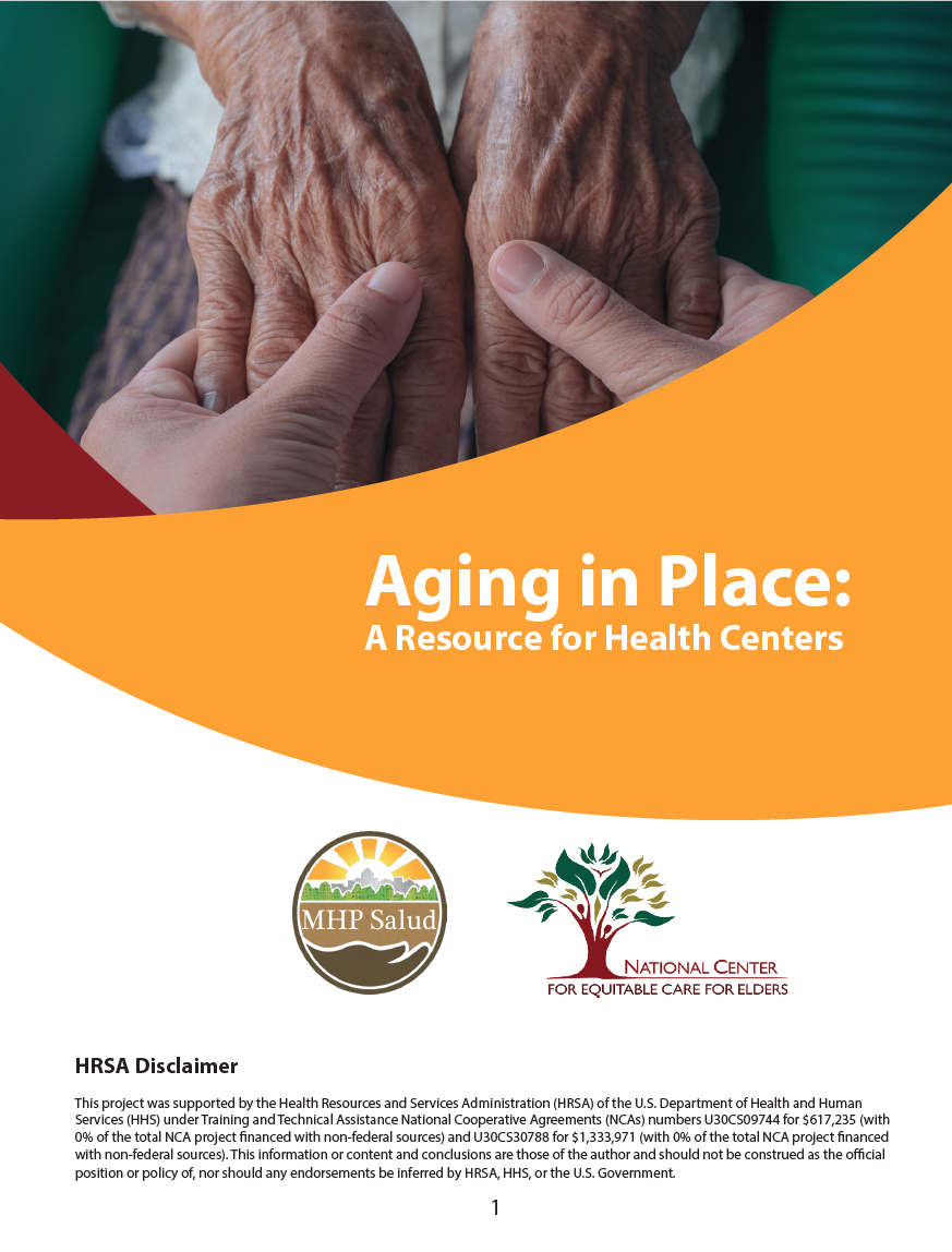Aging in Place publication screenshot
