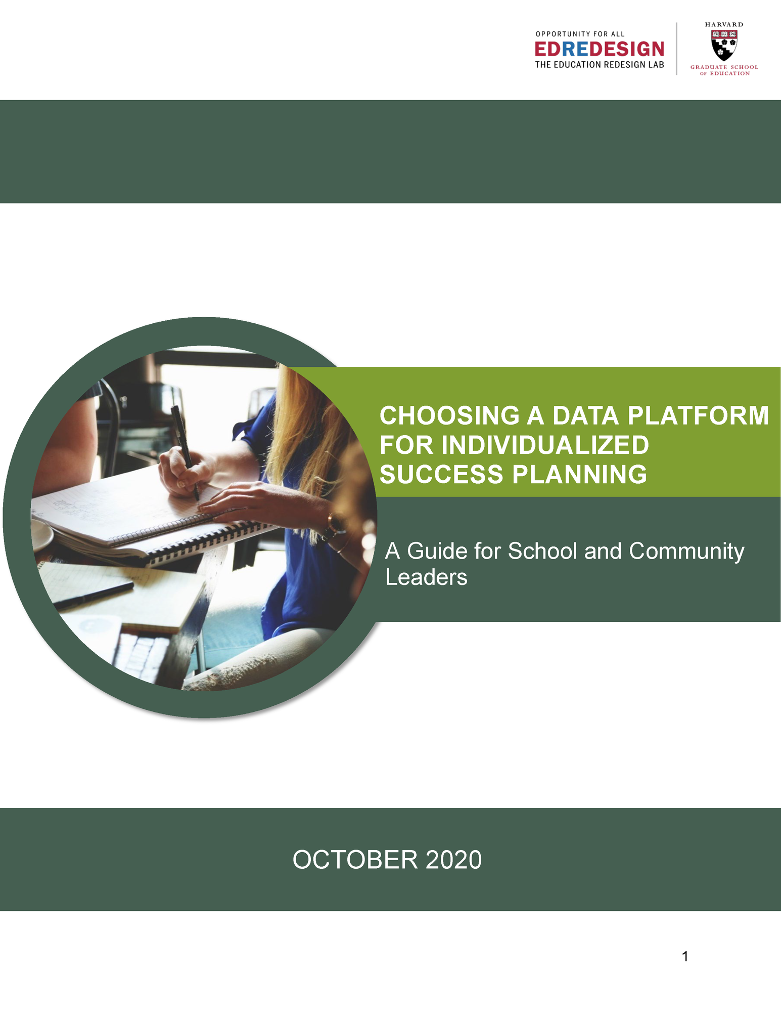 Success Planning Data Platform Guide