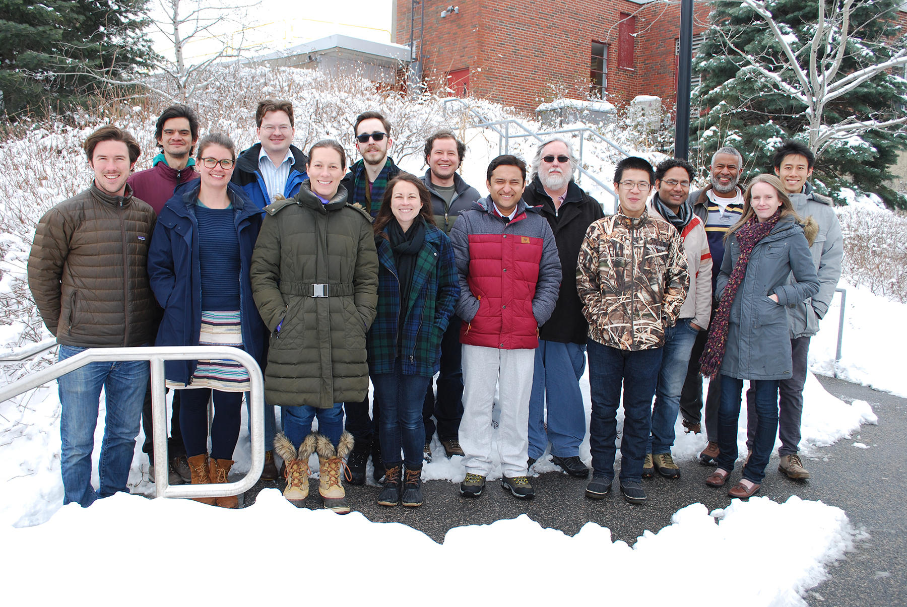 Edwards Lab and friends,  Feb. 2017