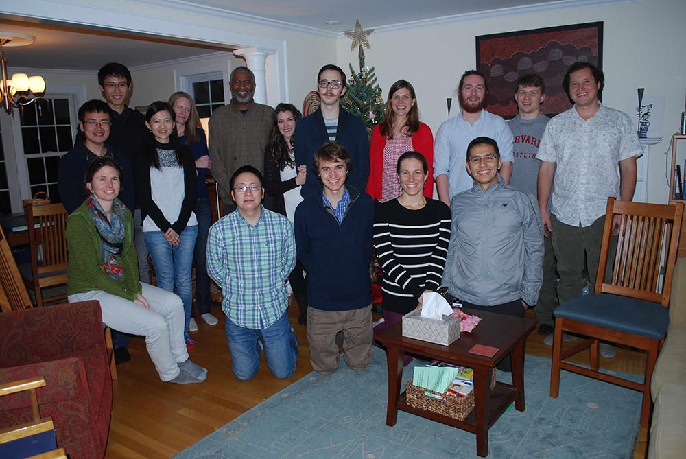 Lab holiday party 2015