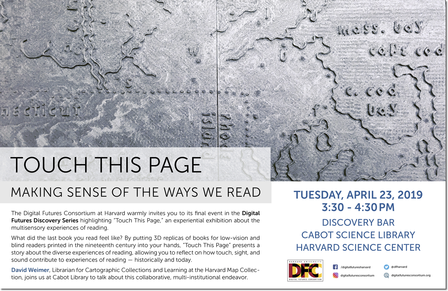 Digital Futures Discovery Series, April 23, 2019