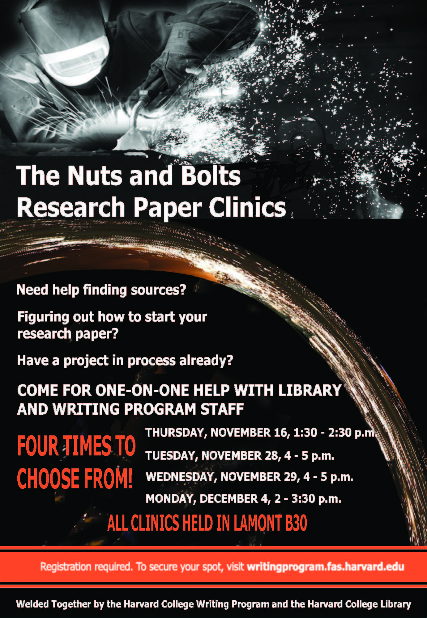 the nuts and bolts research paper clinics harvard college  fall 2017 research clinics