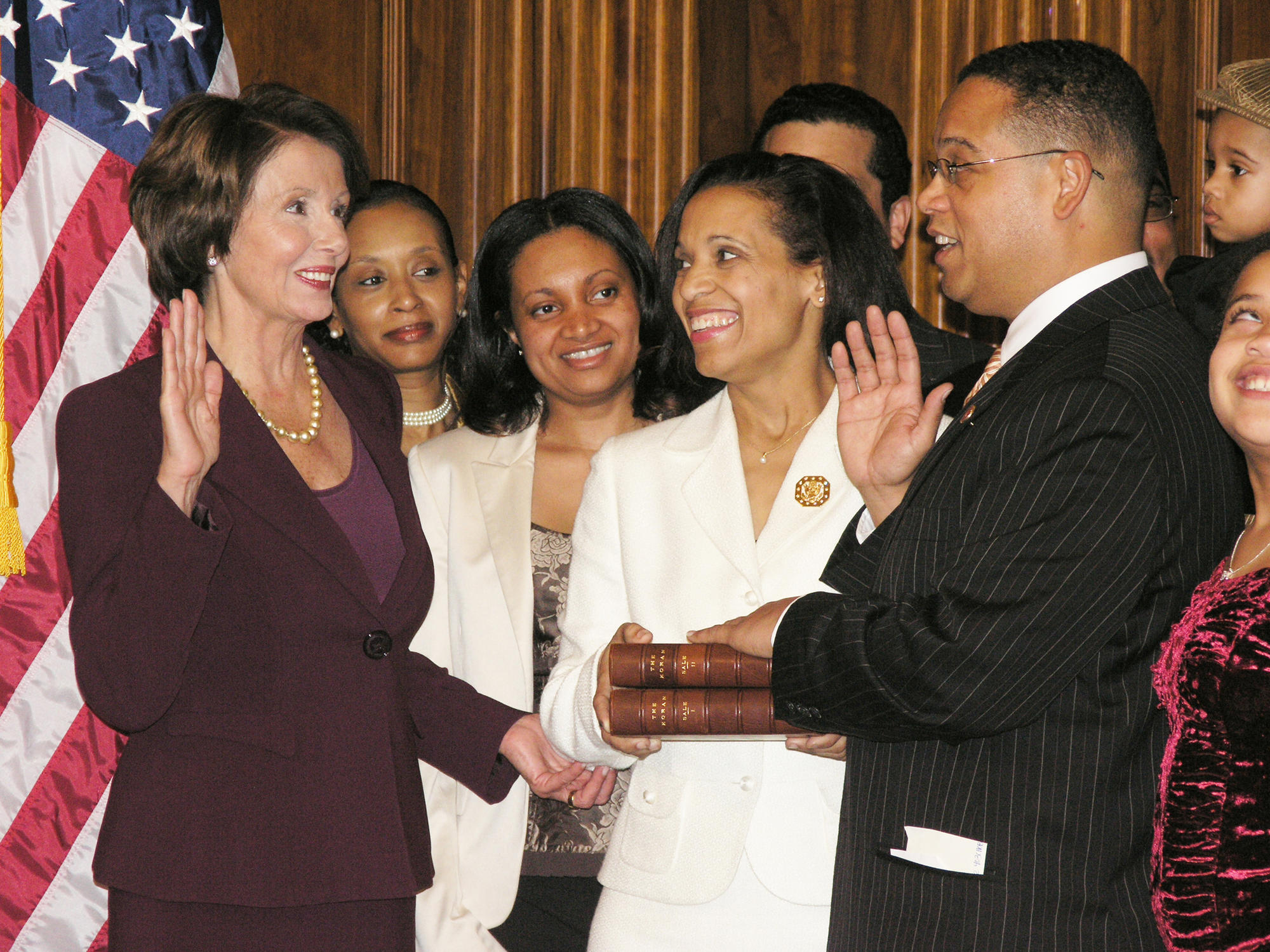 Congressman Keith Ellison swearing in