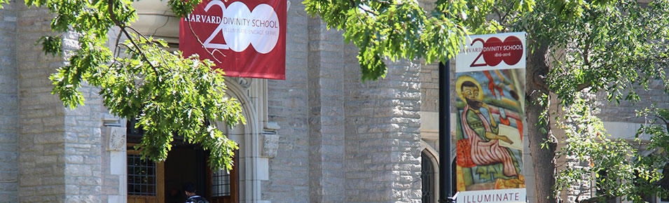 Andover Hall with Bicentennial banners