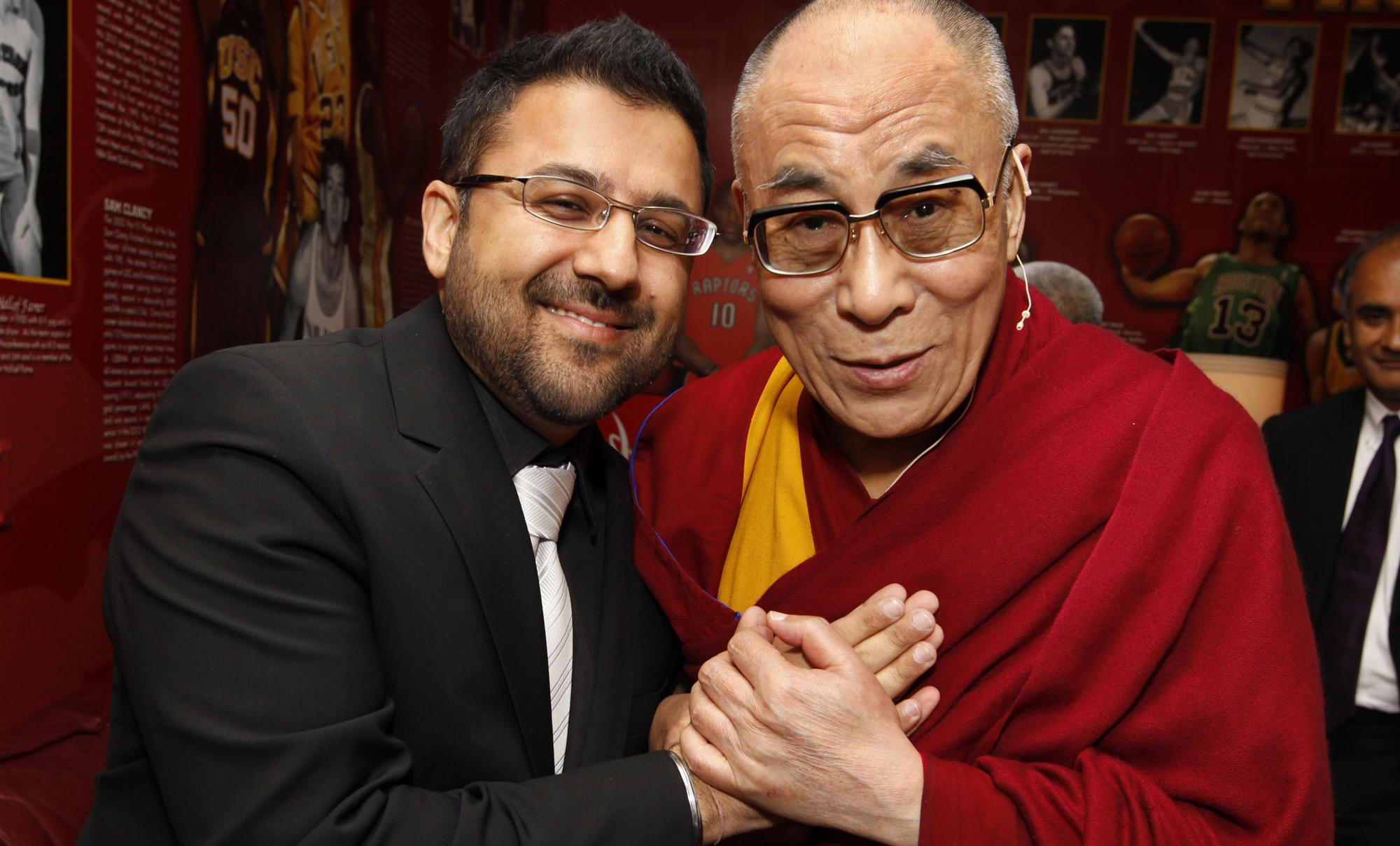Varun Soni and Dalai Lama