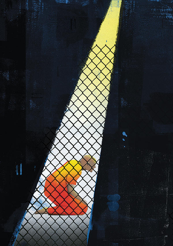 Guantanamo illustration by Daniel Zender