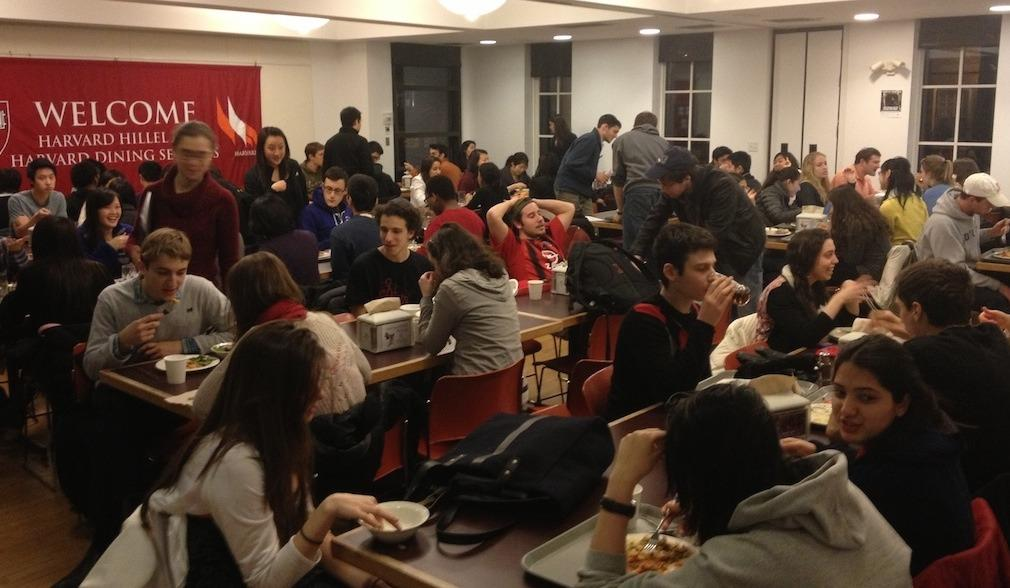 Harvard Hillel Serves Shabbat and Holiday Meals and Dinner on Weekdays!