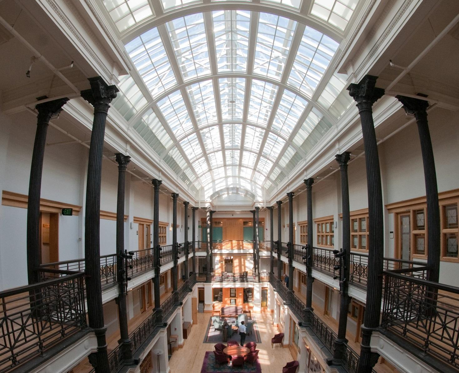 Gordon Hall Atrium