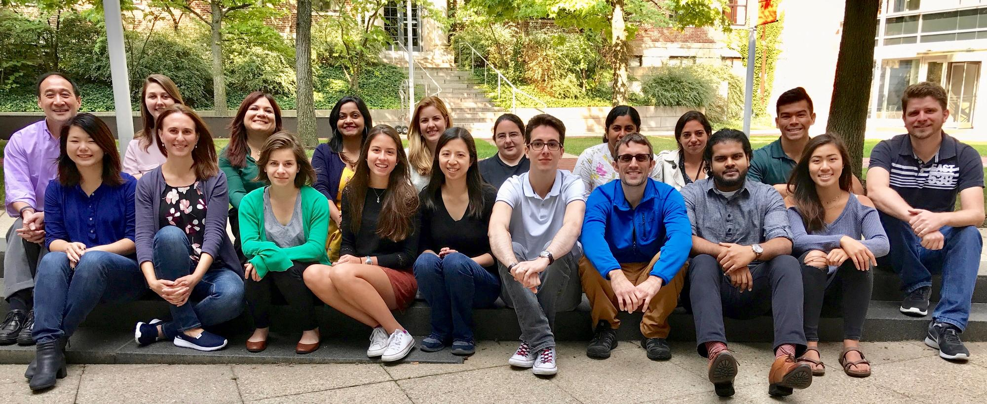 Lee lab group photo