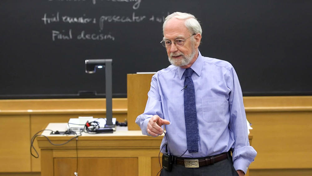 Professor Rakoff teaching in class