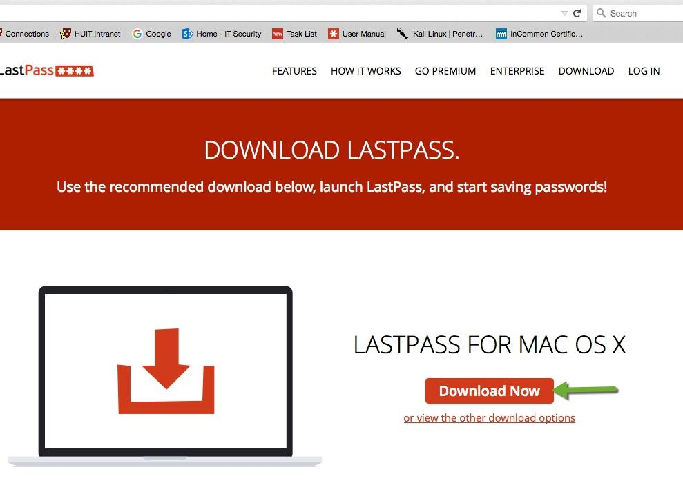 Lastpass login