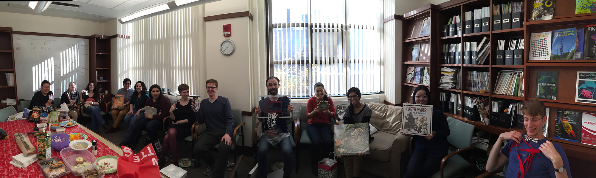 Kramer Lab holiday party 2015