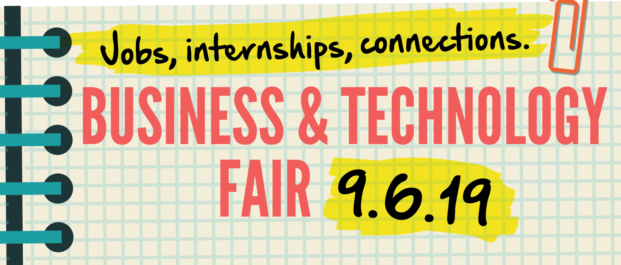 Business & Technology Fair Banner