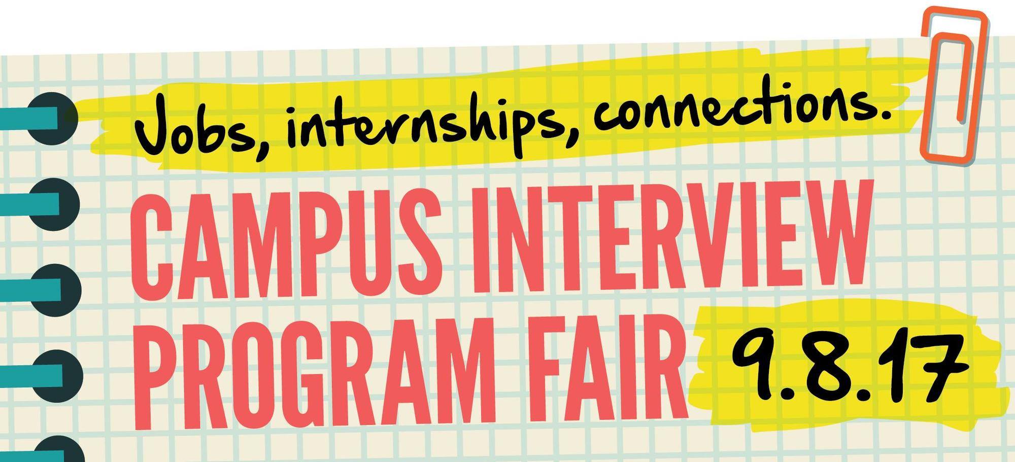 Campus Interview Program Fair