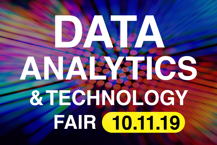 Data Analytics & Technology Fair Banner